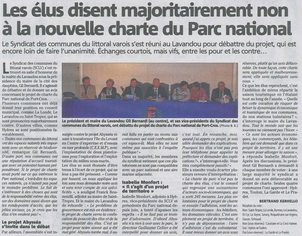 VM 2014-10-10 Non a la charte de Port Cros